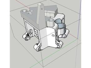 upgraded max z effector inductive sensor 30mm fan 30mm blower part cooling 3d printer parts anycubic anycubic delta anycubic kossel delta deltabot delta 3d printer delta effector delta printer e3d end effector e3d hotend e3d v6 effector folgertech kossel hotend kossel kossel 2020 kossel mini mini kossel