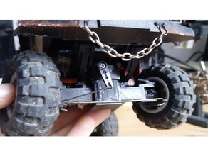 simple fwd 4wd front axle diy rc truck r c vehicles scale rc cars