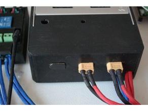 power supply cover 3d printing 24v 24volt power supply power supply cover xt60 xt60 cap xt60 connector xt60 cover xt60 holder xt60 mount