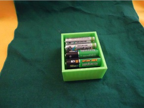 battery box aa 4x2 containers aa aa battery box aa battery storage aa batteries aa battery aa battery holder battery storage customized