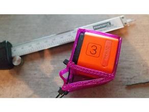 runcam3 zip tie adjustable flex tpu mount r c vehicles runcam3 runcam3 mount