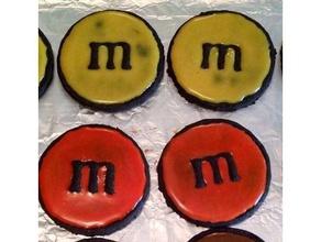 m&m cookie cutter 3d printing cookie cutter cookie cutters m&m m&m cookie cutter