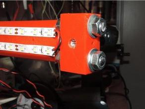ciclop scanner - 12 mm laser holder diy 3d scanner 3d scanning ciclop ciclop scanner laser holder line laser