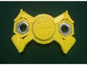 dizzy m&m fidget spinner toy & game accessories fidget fidget spinner fidget toy hand spinner m & m m&m spinner