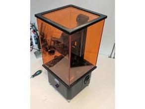 wanhao duplicator d7 perspex acrylic lid cover 3d printer accessories wanhao d7 wanhao duplicator 7 wanhao duplicator d7