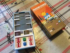 machi koro machi koro bright lights big city conversion compact expansion box insert toy & game accessories box insert machi koro