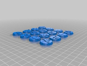 round stone bases 25mm 32mm 40mm 3d printing 25mm 25mm base 25mm bases 32mm 32mm base 32mm bases 40mm 40mm base 40mm bases base dnd dnd base dnd tiles rpg stone stone base