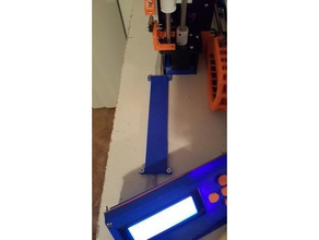 anet a8 lcd ribbon cable cover 3d printing 16x2 lcd ribbon cable anet anet a6 anet a6 upgrade anet a8 anet a8 mods anet a8 parts anet a8 upgrade lcd lcd case lcd cover lcd holder lcd mount lcd panel led ribbon ribbon ribbon blue ribbon cable ribbon cable clip smart lcd