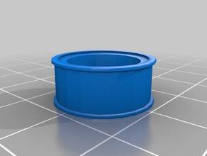 gt2 6mm belt 624zz bearing idler pulley toothless 3d printer parts 624zz gt2 gt2 belt idler pulley