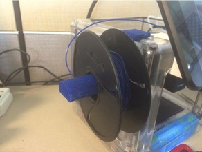 m3d spool holder 3d printer accessories filament spool filament spool holder m3d m3d micro m3d micro plus m3d plus m3d pro spool spool holder