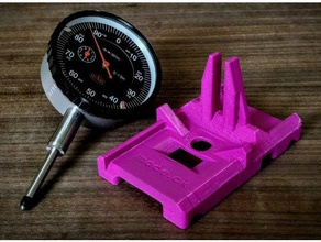 sled mount precision dial indicator 3d printing 3-point 3 points level 3 point level affordable bed leveling bed levelling calibrate calibration calibration test carriage cartesian cheap contact contact sensor dial dial gauge dial indicator dial indicator mount economy fine tuning flashforge flashforge creator flat flattener flattening gage gauge gravity holder inch level leveling low cost low force magenta  replicator replicator 2 upgrade part measure measurement measurement device measurement tool measuring mount nist nist traceable pink plunger precision precision tool mount printer calibration rails real replicator upgrade sled slide slider sliding tolerance tolerances tolerance test tolerence tolerence test tool tool holder tuning upgrade upgrades vertical vertical stand x-carriage xyz x axis carriage x carriage y-carriage z calibration