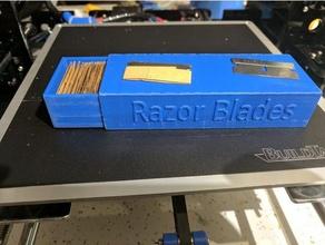 single edge razor blade storage box tools basic easy harborfreight razor razorblade razor blade razor blade case razor blade holder razor holder razor scraper single single edge single edge razor