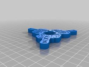 third finger left spinner mechanical toys fidget figet spinner finger middle middle finger spinner