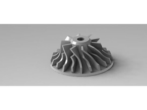 impeller 3d printing impeller impeller pump jet engine turbine