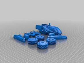 1 72 montaraz 3d printing