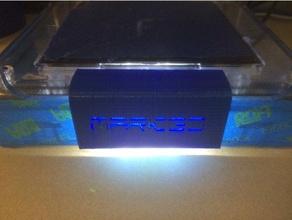 m3d nameplate 3d printer accessories m3d m3dmicro m3d micro m3d print nameplate