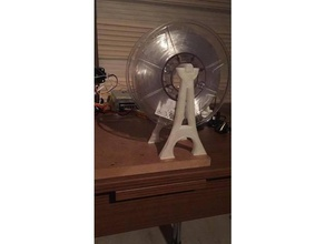 eiffel spool holder 3d printer accessories 3d printed eiffel eiffel tower filament filament holder filament spool filament spool holder spool spool holder tour eiffel