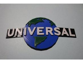 universal studios logo - 4 color signs & logos 2d art 4 color hollywood logo movie studio multicolor orlando theme park universal universal logo universal studios