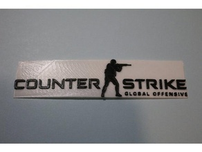counter strike global offensive logo signs & logos counter counter strike counter strike go csgo esport fps game global offensive logo strike valve