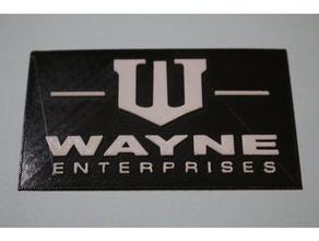 wayne enterprises logo signs & logos 2 color batman bruce wayne business card gotham logo multicolor dark knight wayne wayne enterprises