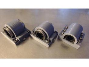 bearing holder 10mm & 12mm 3d printer parts 10mm bearing 12mm bearing bearing holder linear bearing