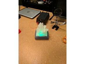 crystal lamp decor crystal crystals crystal lamp crystal structure lamp lantern led leds led light light proto proto build bar proto buildbar protobuildbar