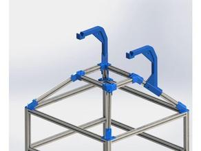 ft-5 canopy frame spool mount 3d printer accessories folgertech ft5 ft5 ft5 canopy ft5 roof ft5 spool holder