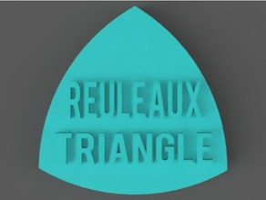 reuleaux triangle math art amazing beautiful circle constant constant width cool creative fun math render reuleaux triangle roller rotary solid solid triangle wankel wankel engine wenkel width