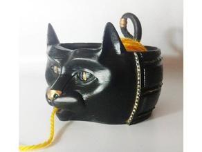 cat yarn bowl tool holders & boxes bowl cat knitting yarn yarn bowl