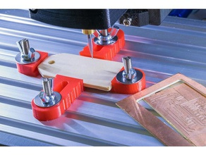 pcb holder cnc machine tools cnc computer create design diy double double sided double side drill helper holder machine made manufacturing mill outline pcb pcb drill pcb holder pcb mount producer production project self self made selfmade side sindle single side