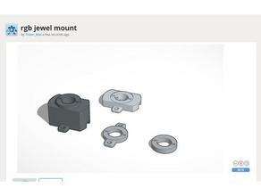 neopixel jewel mount electronics neopixel neopixel jewel neopixel ring