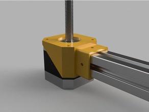 2020 vslot-stepper coupler 3d printer parts 2020 2020 extrusion coupler stepper stepper coupler stepper motor stepper motor mount vslot