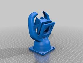 blank fang fang e3dv6 40mm hotend cooler 60mm partcooler 3d printer parts 40mm fan duct 60mm fan 60mm fan cooling 60mm fan mount cooling duct cooling fan e3d hotend fan fan duct fan holder fan mount fan shroud hotend cooling