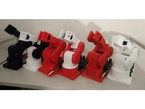 robot pedro 3d printing arduino atmega328p littlearm pedro petit robot raspberry pi robotic arm stem education