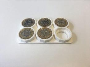 pound coin holder - new 1 coin organization coins holder money money clip new new pound new pound coin one pound pound coin uk pound coin holder wallet 1 coin