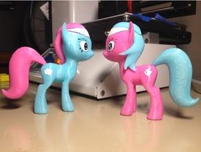mlp lotus et aloe pony toy & game accessories mlp pony model my little pony pony