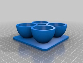 4 x egg cups containers 4 egg cups eggs egg cup multiple egg cups