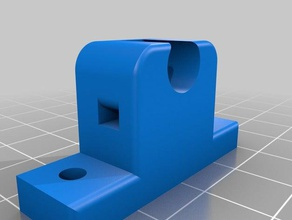 8mm shaft holder prusa i3 y axies mount 3d printer parts prusa i3 y axies mount 8mm 8mm shaft holder holder mount shaft