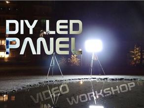 diy led panel parts diy banggood diy diy led diy led panel diy projects  instructables led led panel led strip nikodem nikodem bartnik video youtube youtube video