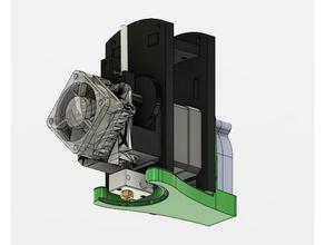 ft5 e3d titan aero cooling duct 3d printer parts e3d e3d aero e3d titan e3d titan aero folgertech folgertech ft5 ft-5 ft5 titan titan aero