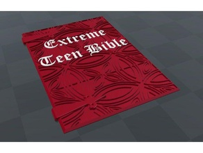 merle's extreme teen bible cover - adventure zone props adventure zone bible book costume dnd dragons dungeons dungeons dragons extreme extreme teen bible merle podcast prop teen adventure zone