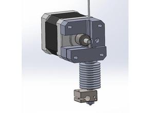 direct extruder - mk7 gear - e3d v6 - 175 filament 3d printer extruders 175 175 filament cad cad files direct direct-drive direct drive direct drive extruder direct extruder e3dv6 e3d extruder e3d hotend e3d v6 extruder filament extruder minimalistic mk7 mk7 mk7 gear mk7 extruder reprap reprappro simple solidworks solidworks 2016
