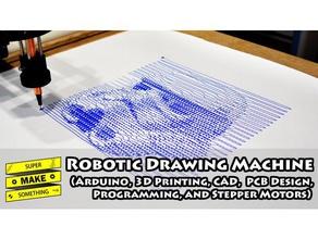robotic drawing machine robotics 3drobotics arduino drawing robot art diy electronics drawing machine drawing robot robot robotics
