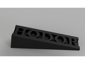 simple hodor household doorstop door stop hodor hodor hold door