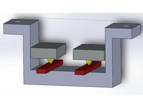 malyan m180 nozzle level gauge 3d printer accessories dual extruder m180 malyan malyan m180