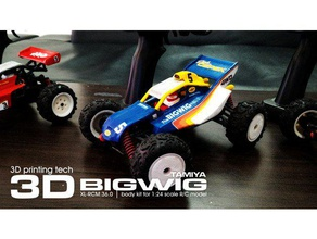 tamiya bigwig 1 24 scale kit subotech r c vehicles 1 10 1 24 4wd 4x4 abs bigwig body buggies buggy car classic collectibles collection hobbies hobby hpi hsp ican3d kit kyosho marui mini-z miniz model models off-road offroad parts plastic print r c race racing radio control rcgroups stl subotech supermotoxl tamiya toy toys traxxas trucks turnigy vintage wltoys