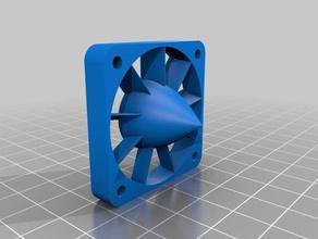 40mm 30mm 60mm & 80mm fan compressor turbines 3d printer parts 30mm 30mm fan 30mm fan duct 30mm fan mount 30mm fan shroud 3d printer parts 40mm 40mm fan 40mm fan duct aerodynamic air boost cfm compressor compressor turbine cooling cooling fan e3d e3dv6 e3d v6 e3d volcano fan fan compressor fan duct fan shroud fan upgrade print cooling fan printer mods thing turbine volcano