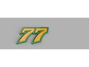 77 - dominique aegerter sport & outdoors aegerter da77 dominique made switzerland motogp swiss switzerland
