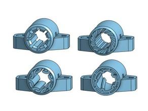 prusa i3 mk2 mk2s y-axes lm8uu replace 3d printer parts igus igus bushing linear bearing lm8uu lm8uu bearing lm8uu bushing lm8uu holder lm8uu linear bearing prusa i3 mk2