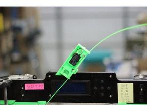 anet a8 filament sensor switch guide out filament filament jam 3d printer accessories anet a8 upgrade filament guide filament jam sensor filament sensor octoprint filament